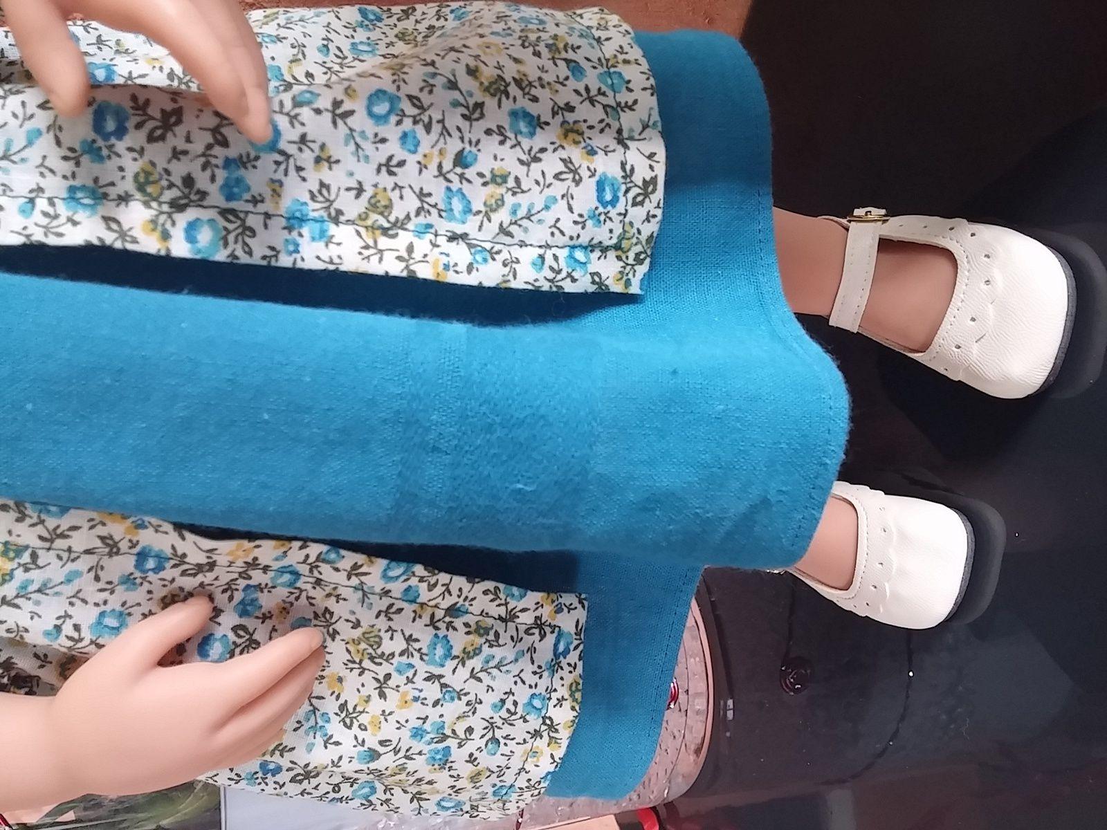 Katia et sa tenue &quot&#x3B;Marquise&quot&#x3B; de Mina couture