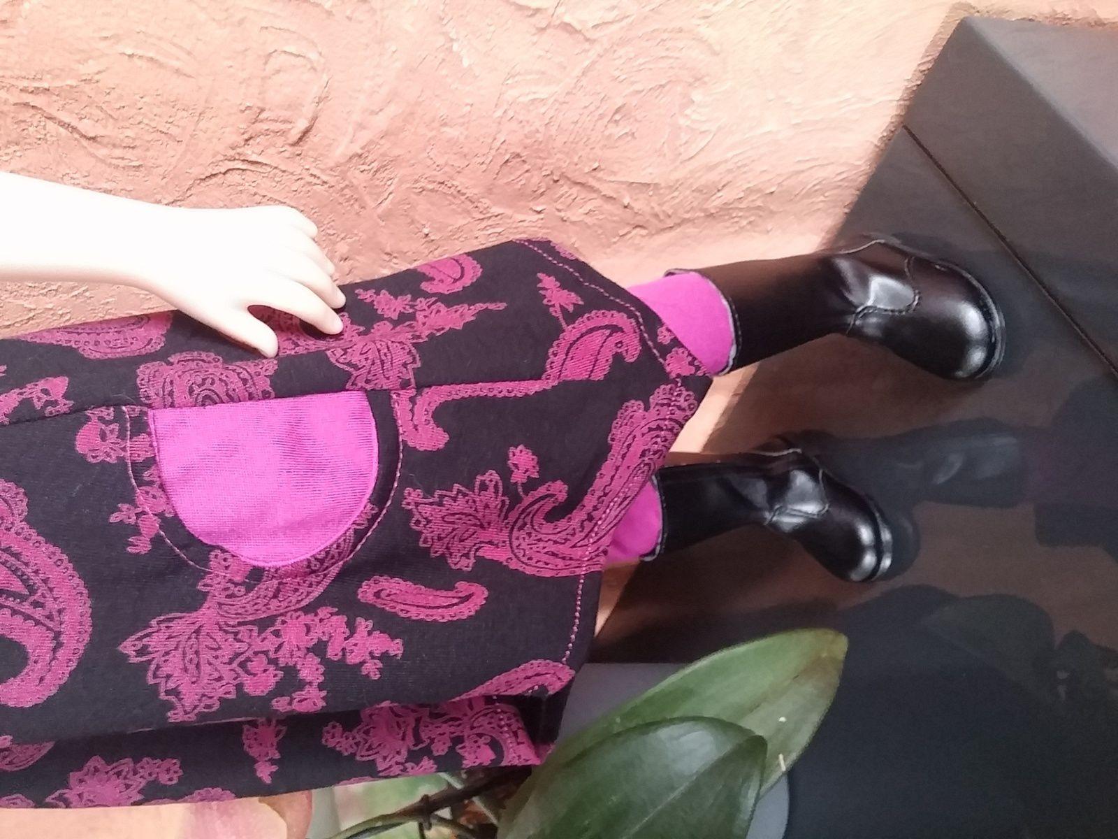 Tuto robe trapèze pour Gotz, Maru,...