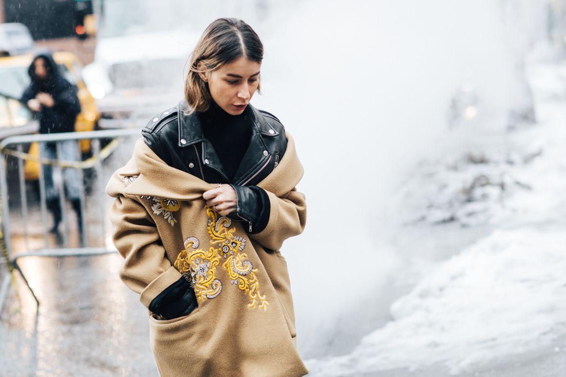 Street style 2 à la Fashion Week automne hiver 2017-2018: NEW YORK