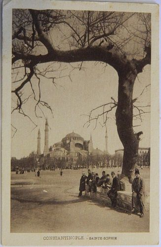 Constantinople - Sainte Sophie