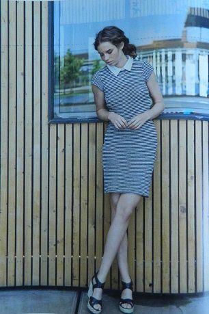 mon coup de coeur : la robe Lina et son col amovible