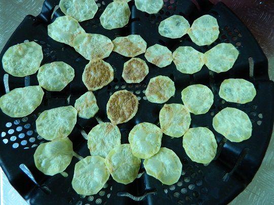 Ici les chips de pommes de terre