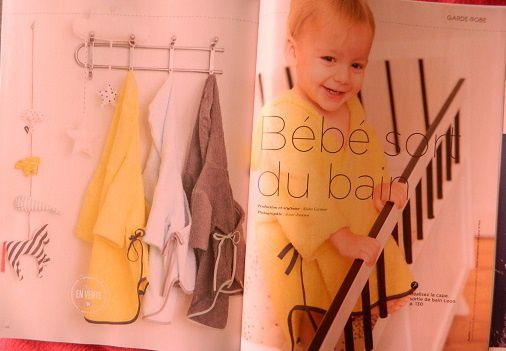 Et la cape de bain Léon pour les tous petits ! (de 1 à 18 mois)