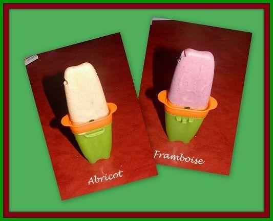 Des glaces sans lactose et sans sorbetière  + 1 patron gratuit