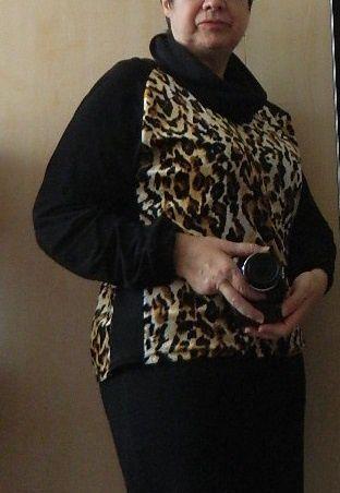 """des photos """"porté"""" de face et de profil &#x3B; et avec ou sans snood ! Lol"""