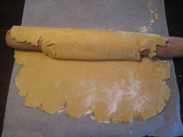 Cuisson d'une pâte à blanc