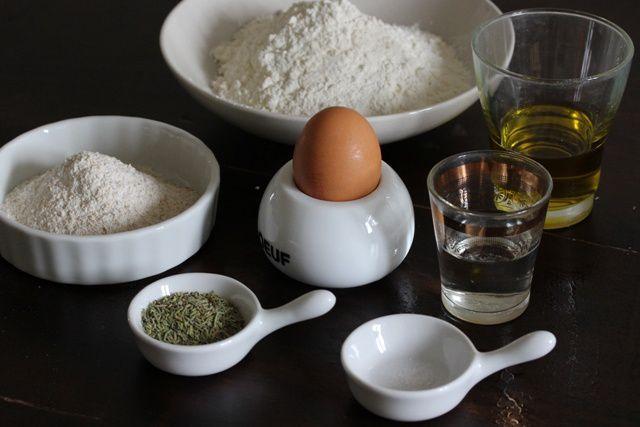 Pâte sablée à l'huile d'olive