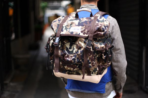 Eastpak X A.P.C Backpacks.