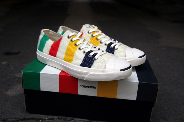 Converse Jack Purcell X Hudson's Bay Company.