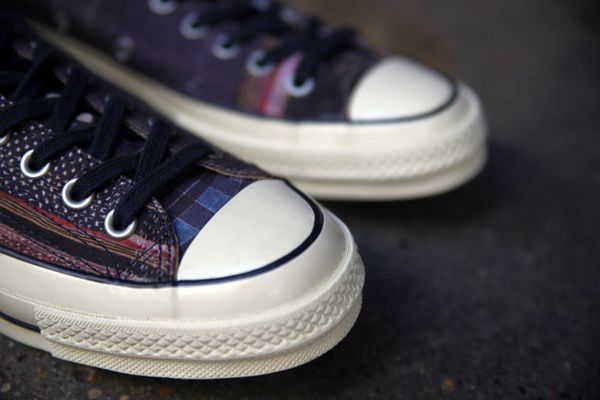 "Converse First String 70's Chuck Taylor Ox ""Eclipse""."