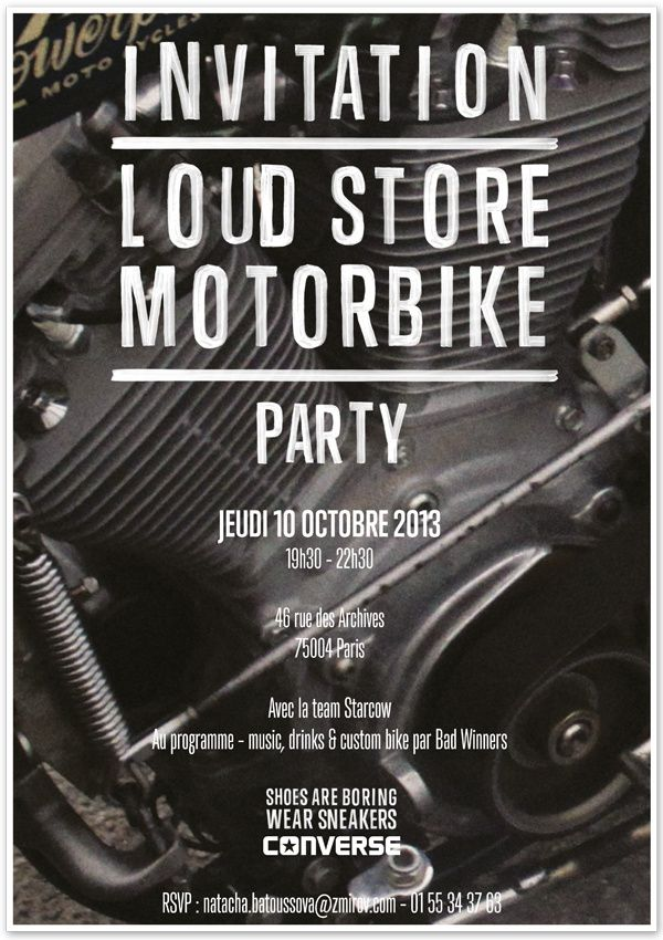 Loud Store Motorbike Party