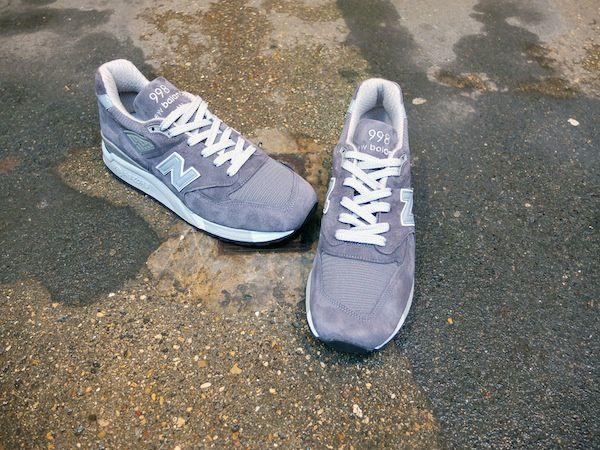 New Balance m998CH Tonal Grey Made in Usa.