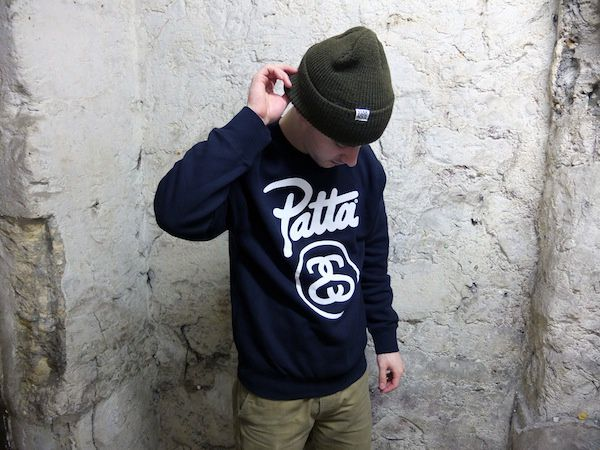 Patta X Stussy : Drops Saturday February 8th