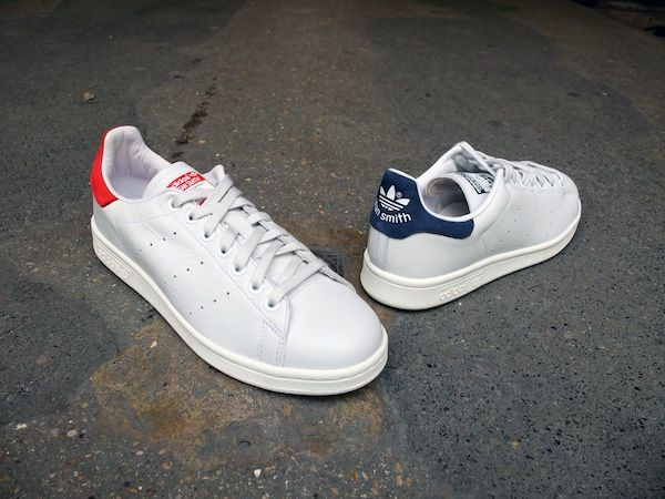 Adidas Stan Smith New Navy &amp&#x3B; Collegiate Red