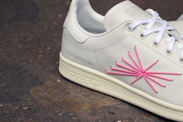 Adidas Consortium Stan Smith &quot&#x3B;Play&quot&#x3B; X Shigeki Fujishiro