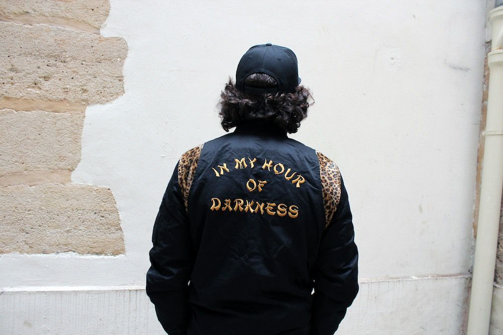 FUCT SSDD High Desert &amp&#x3B; In my Hour Of Darkness Jacket