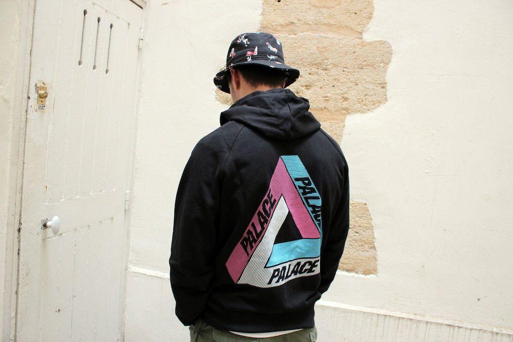 Palace Skateboards Tri-Line Hood &amp&#x3B; Crew