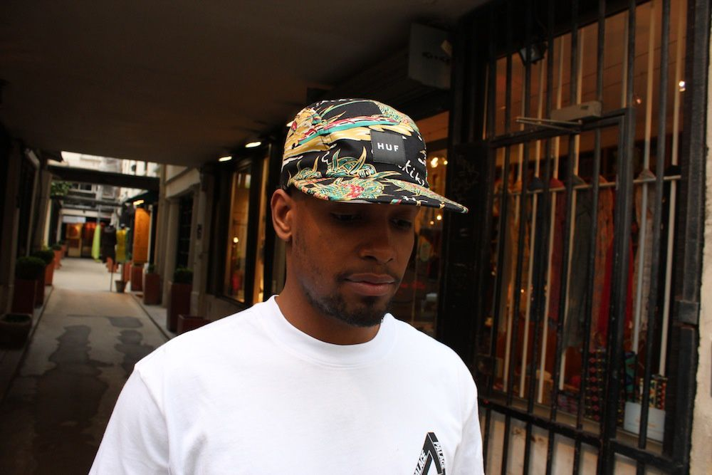 Huf Embroidered Plantlife &amp&#x3B; Souvenir Volley Cap