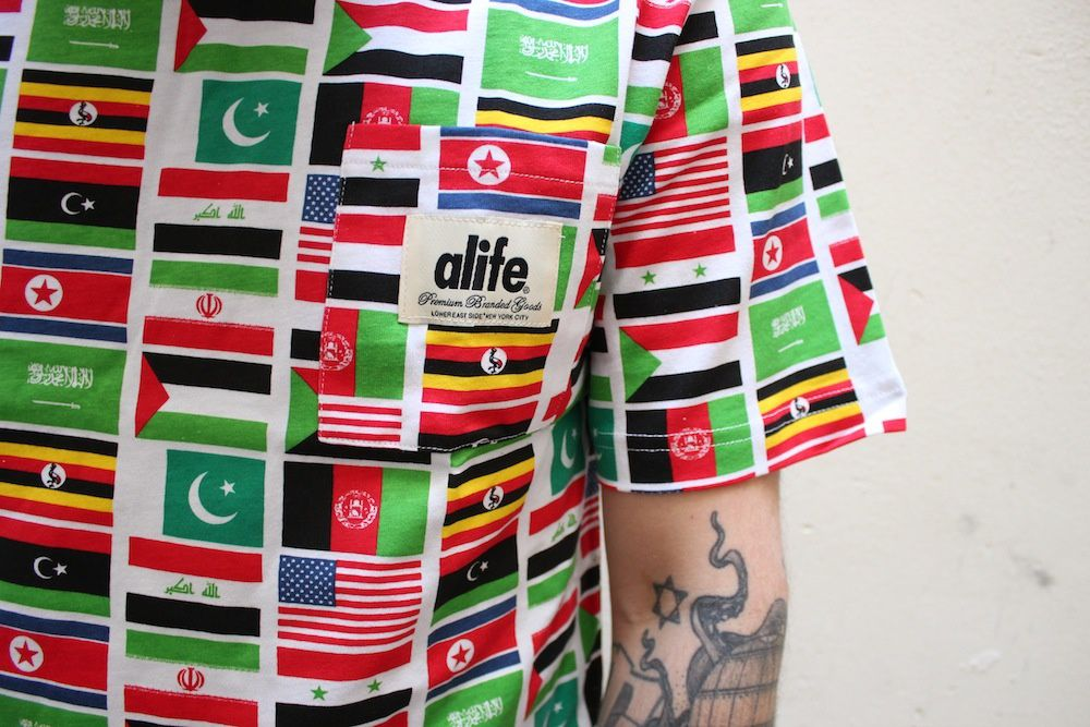 Alife Nyc Terror All Over T-Shirt &amp&#x3B; Hoodie