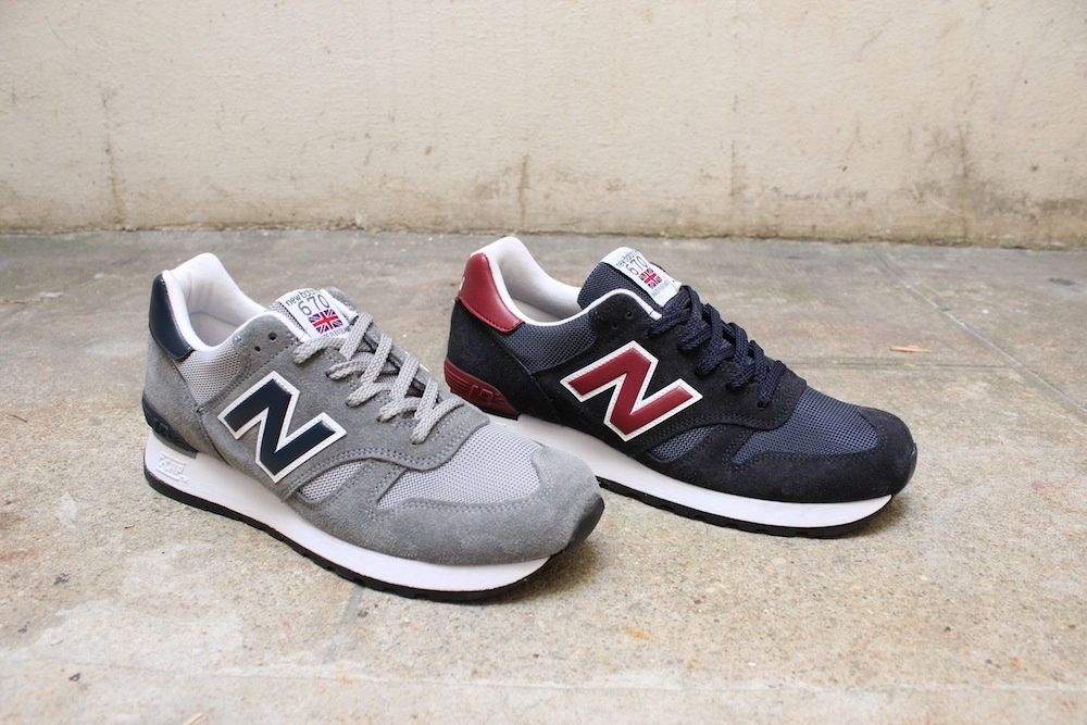 New Balance M670 SGN &amp&#x3B; SNR - Made in the UK