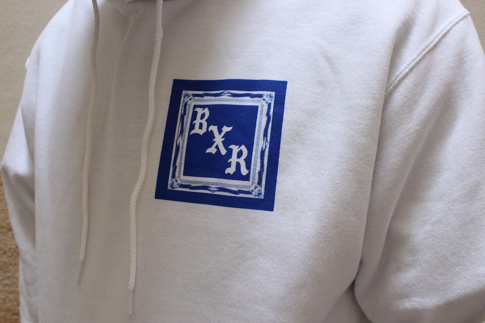 Born X Raised One Block Crew &amp&#x3B; Flag Pullover