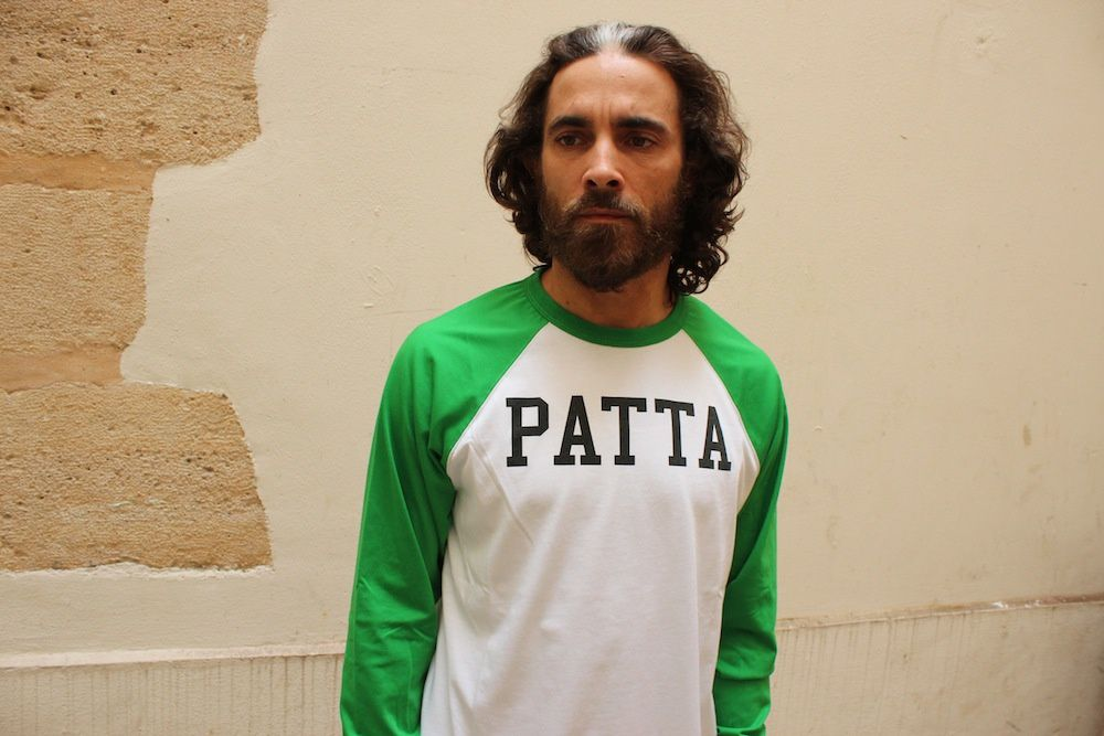 Patta Crew Athletic &amp&#x3B; LS TShirt College