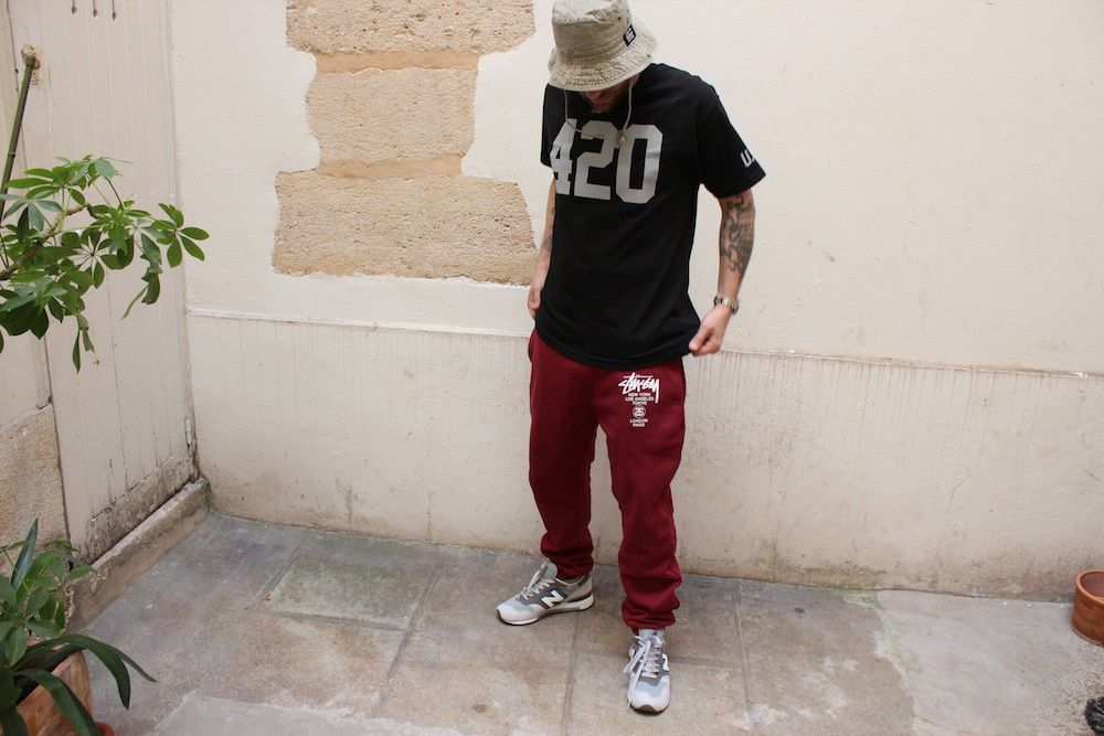 Stussy World Tour &amp&#x3B; No°4 Sweatpant