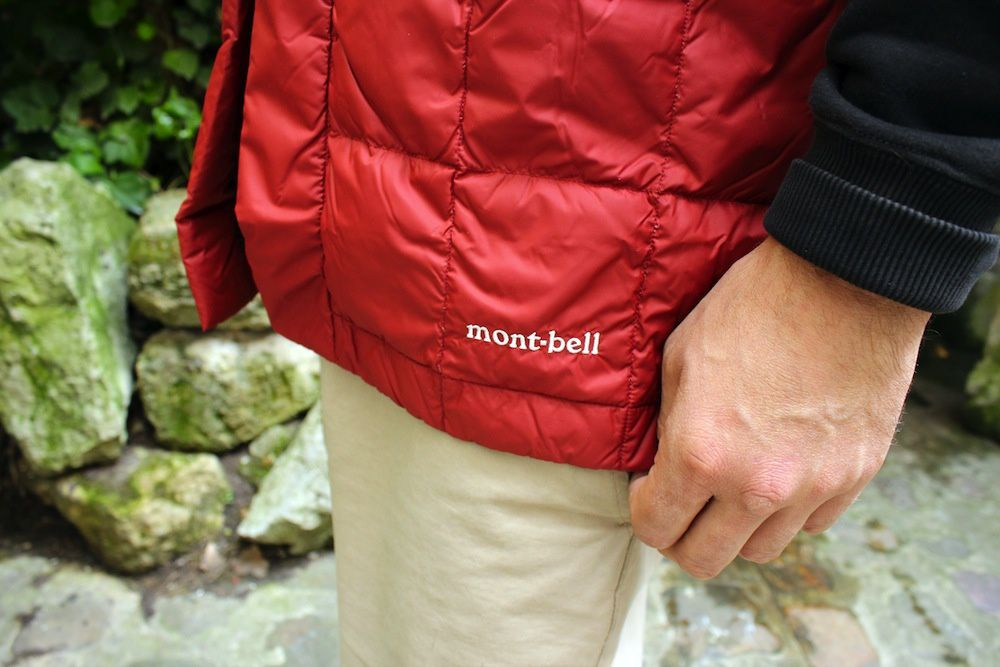 Montbell Japan Down Han-Ten