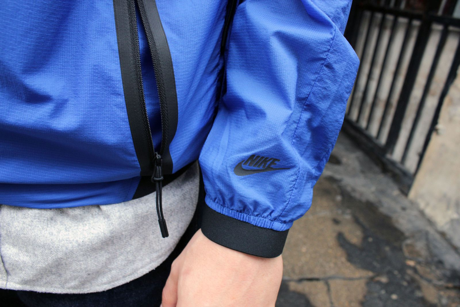 Nike Packable Track &amp&#x3B; Saturday Jacket