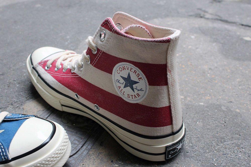 Converse Chuck Taylor 1970 &quot&#x3B;Vintage Flag&quot&#x3B;