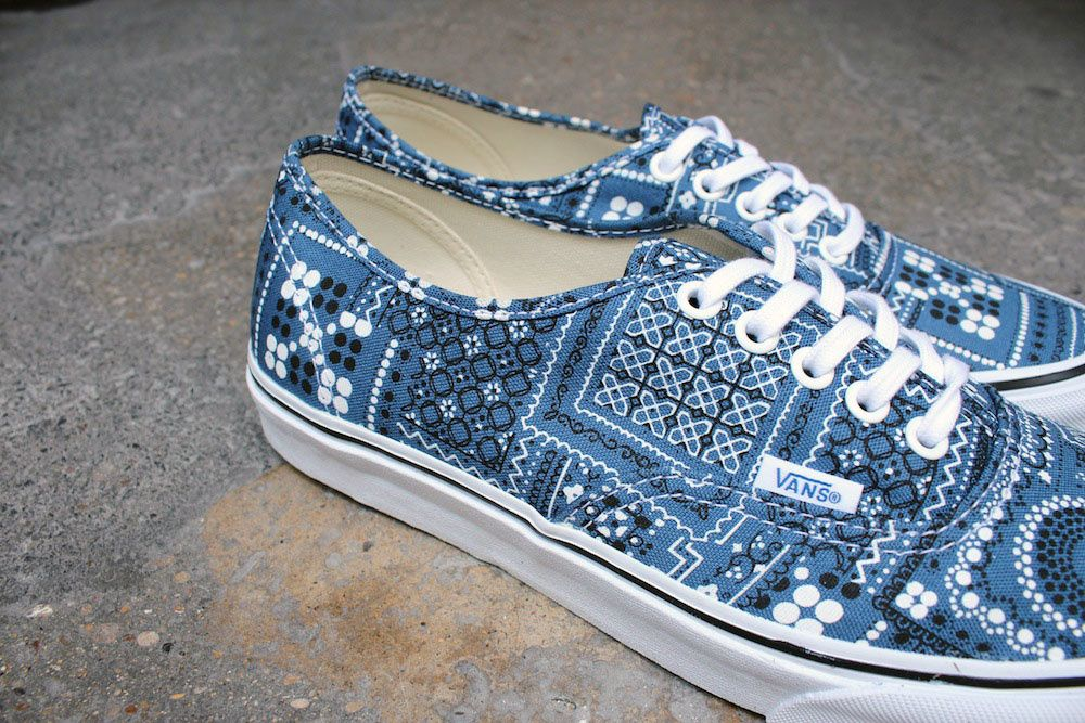 Vans Authentic Van Doren Navy Paisley