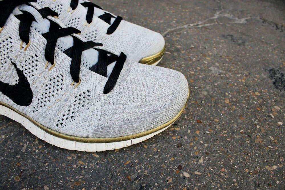 Nike Free Flyknit Chukka PR QS &quot&#x3B;Gold Trophy&quot&#x3B;