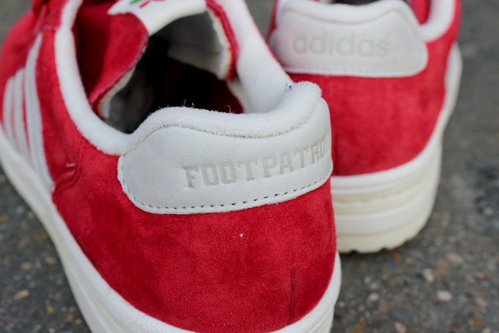 Adidas Consortium X Footpatrol Edberg 86 &quot&#x3B;Strawberries &amp&#x3B; Cream&quot&#x3B;