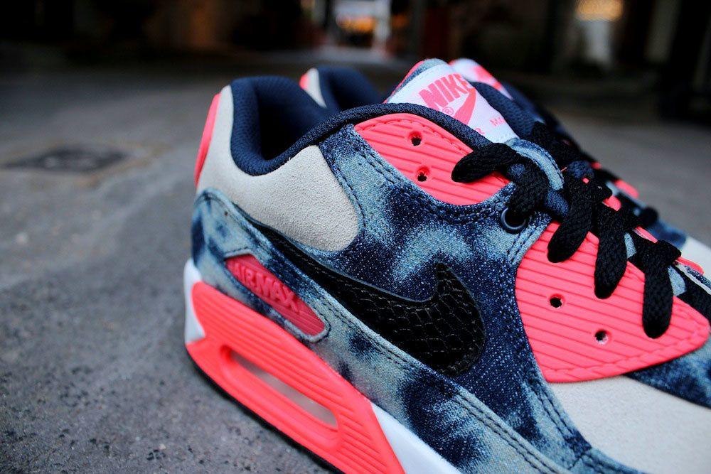 Nike Air Max 90 QS &quot&#x3B;Bleached Denim&quot&#x3B; X Atmos