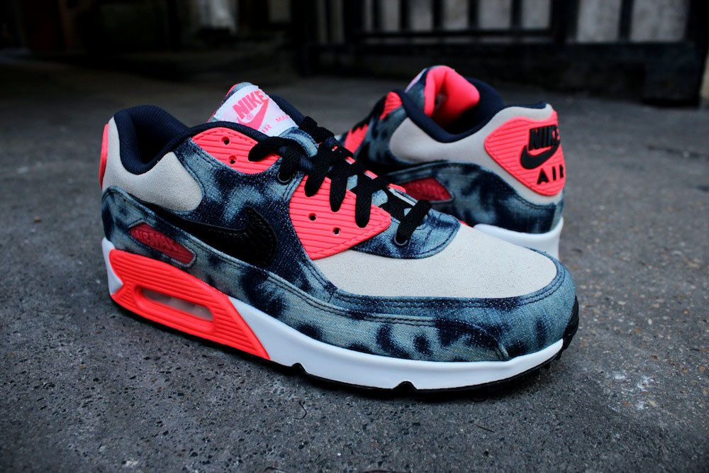Nike Air Max 90 QS &quot&#x3B;Bleached Denim&quot&#x3B; X Atmos