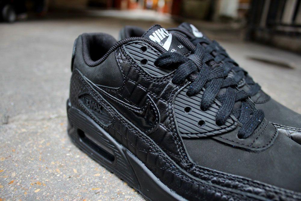 Nike Wmns Air Max 90 Prm &quot&#x3B;Black Reptil&quot&#x3B;