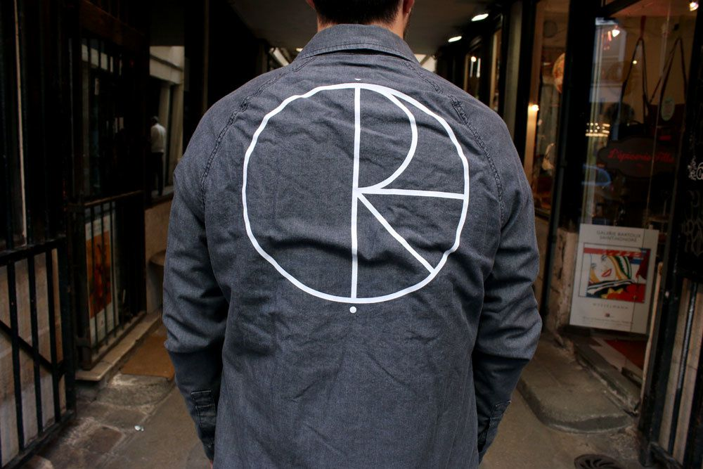 Polar Skate Co Denim Coach Jacket