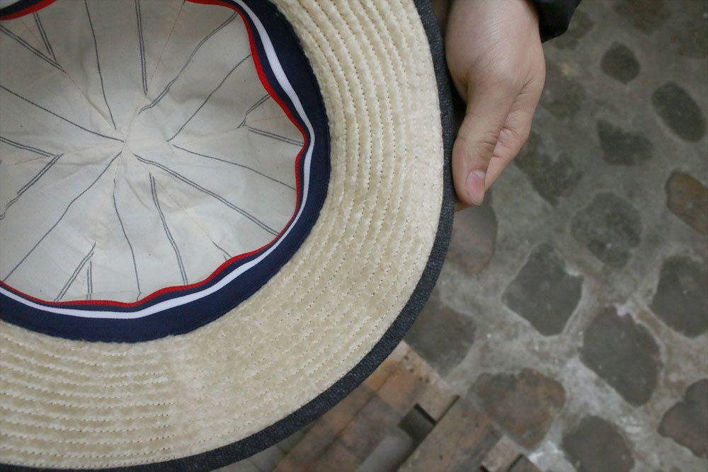 Câbleami : Army Twill Metro Hat - Made In Japan
