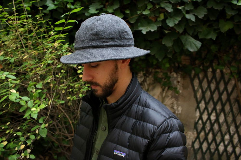 Câbleami : Army Twill Metro Hat - Made In Japan