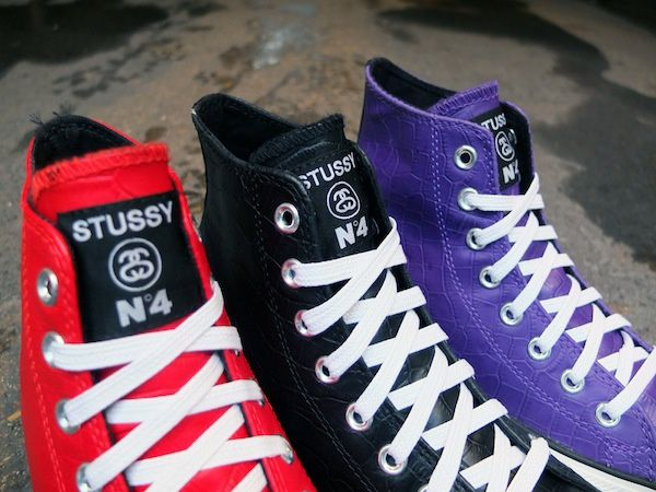 Stussy for Converse Chuck Taylor All Star Hi
