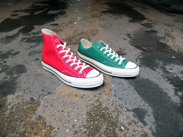 "Converse First String Chuck Taylor 1970 ""Christmas"" Editions​"