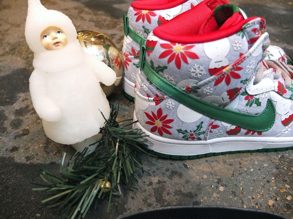 CONCEPTS x NIKE SB Dunk High Pro &quot&#x3B;Ugly Sweater&quot&#x3B;