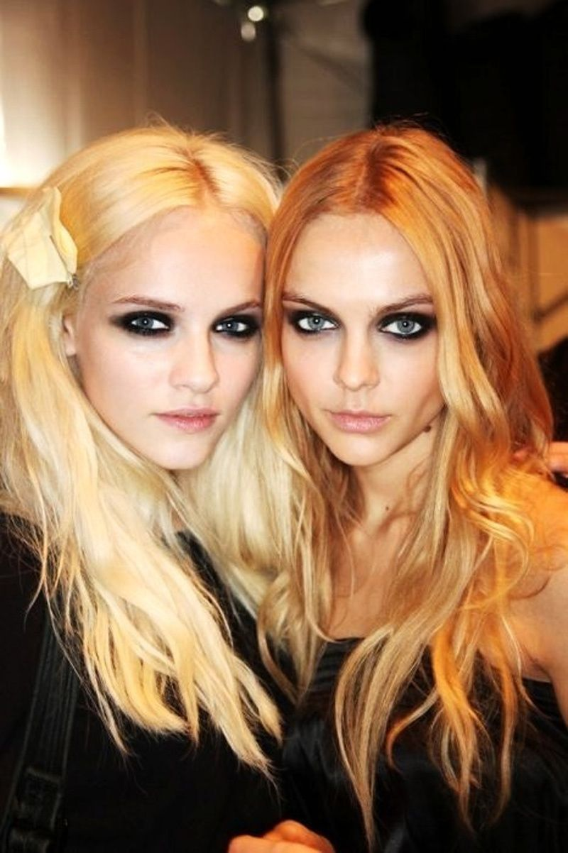 Fashion models, Eyeliner, Beauty and Makeup