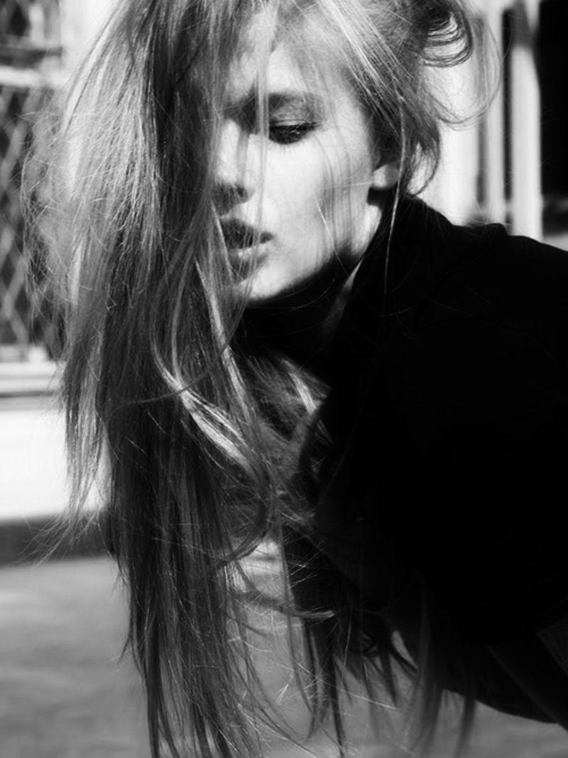 long hair, Fashion model