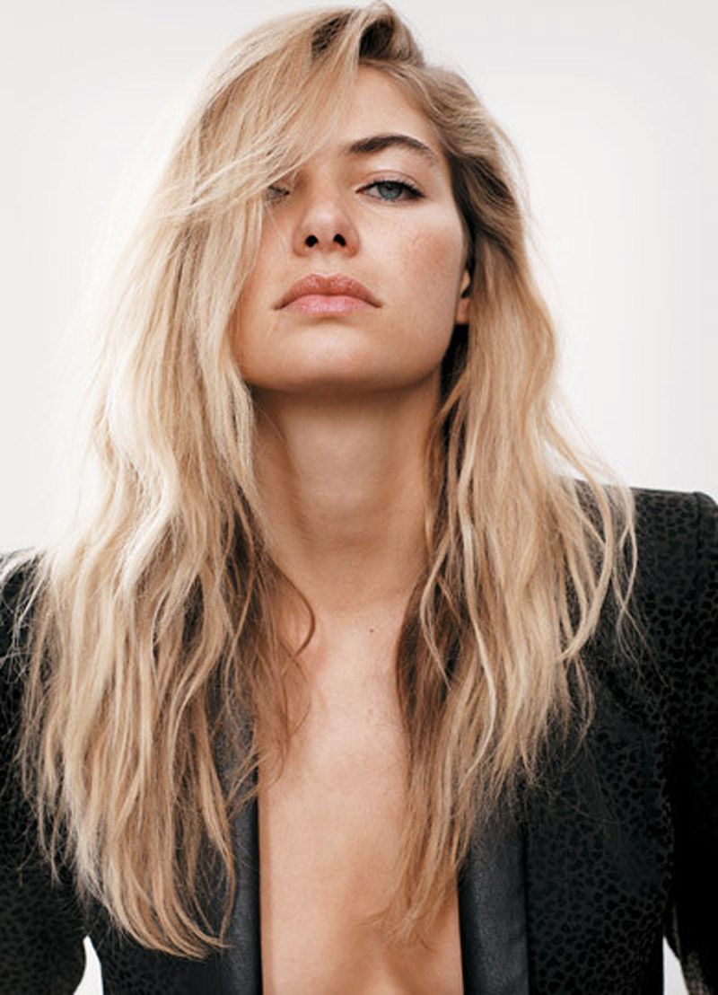 Fashion Model Jessica Hart, Style inspiration, Fashion photography, Long hair
