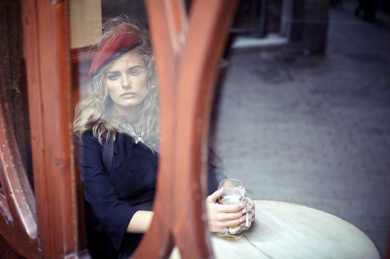Fashion Model Edita Vilkeviciute, Style inspiration, Fashion photography, Long hair