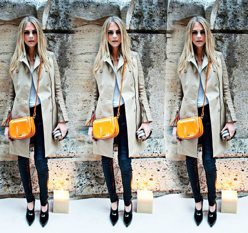 Fashion Model Cara Delevingne, Burberry Style inspiration, Fashion photography, Long hair