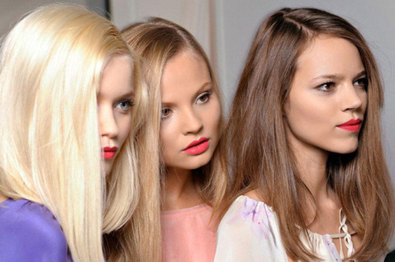 Fashion Model, Fendi Lipstick Style inspiration, Fashion photography, Long hair