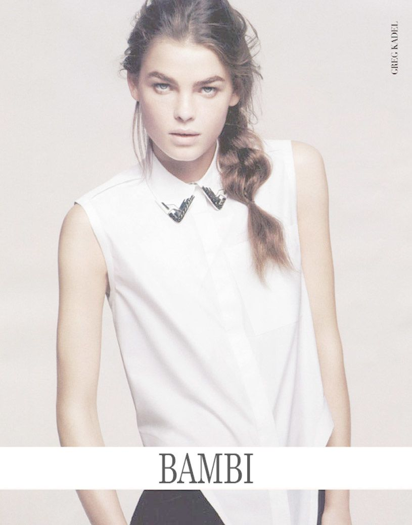 Fashion Model Bambi Northwood-Blyth, Style inspiration, Fashion photography, Long hair