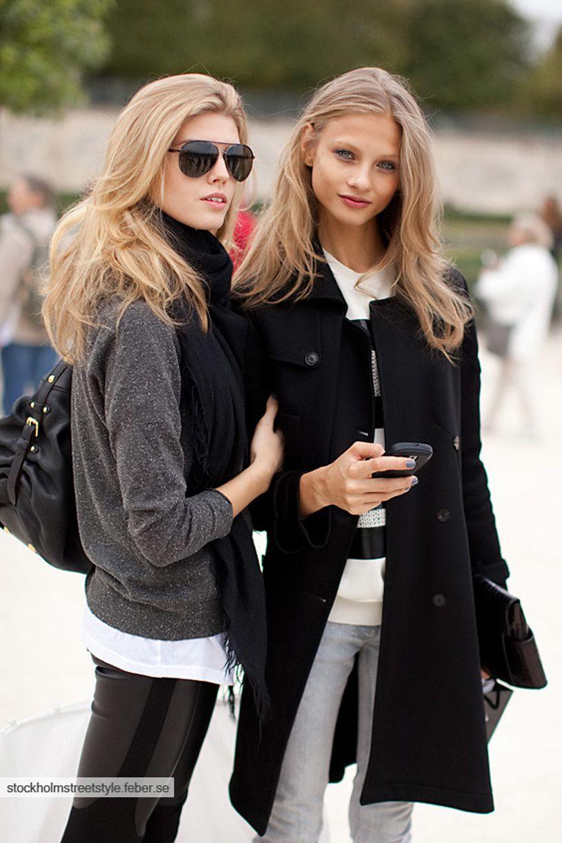 Fashion Model, Street Style inspiration, Fashion photography, Long hair